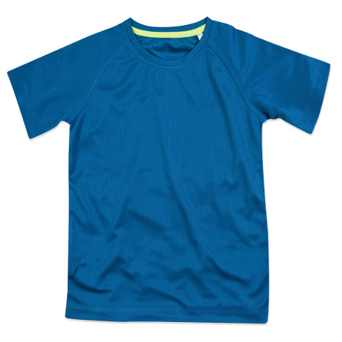 polo-shirts.co.uk Active By Stedman Children's 140 Raglan T-Shirt
