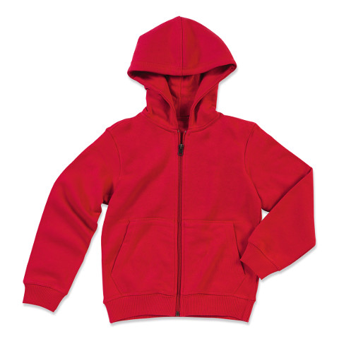 polo-shirts.co.uk Active By Stedman Children's Sweat Jacket