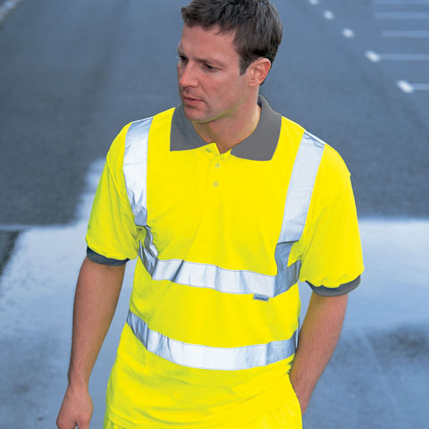Work & Protective Clothing Dickies Hi-Vis Safety Polo Shirt