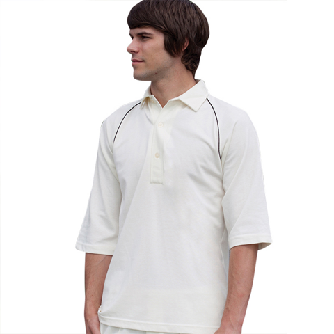 polo-shirts.co.uk Finden & Hales Boys Piped Cricket Shirt