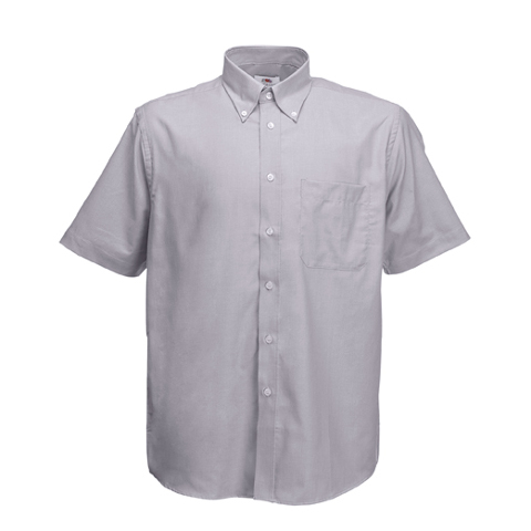 Fruit of the Loom short sleeve oxford shirt · View larger image