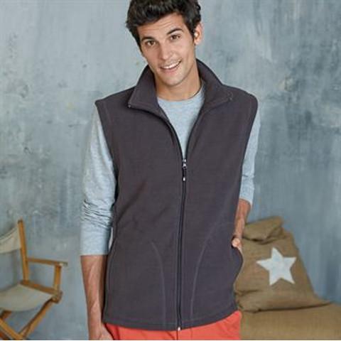 polo-shirts.co.uk Kariban Luca Fleece Gilet