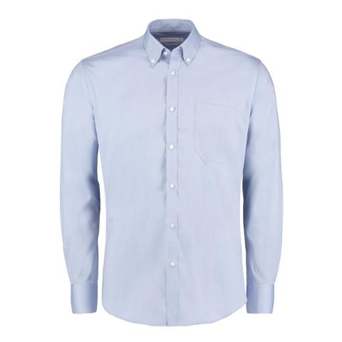 polo-shirts.co.uk Kustom Kit Slim Fit Premium Oxford Shirt Long Sleeve