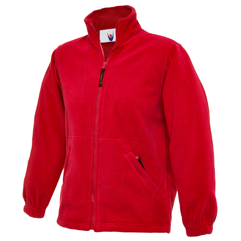 Uneek Childrens Fleece Jacket - Uneek Classic Childrens Full Zip ...