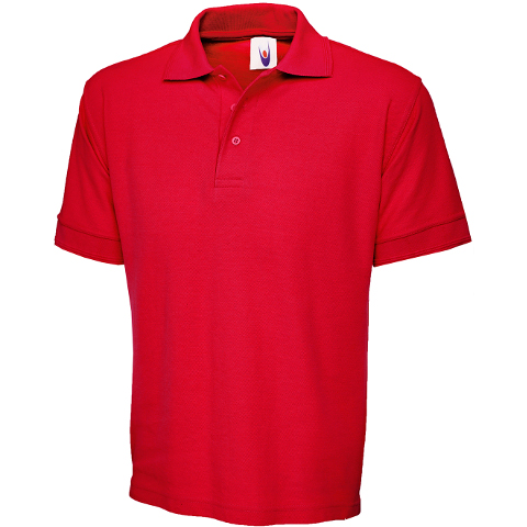 T-Shirts, Polos & Tops Uneek Ultimate 100% Cotton Heavyweight Pique Polo
