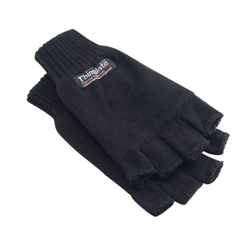 polo-shirts.co.uk Yoko 3M Thinsulate Half Finger Gloves