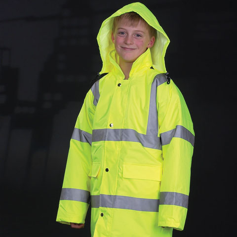 polo-shirts.co.uk Yoko Children's Hi-Vis Parka