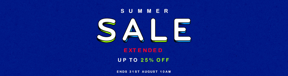August Summer Sale Extended - 20% Off Print & Embroidery Applications