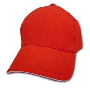 6 Sandwich Trim Baseball Cap