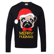 Adults Merry Pugmas Jumper