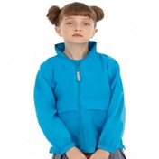 B&C Kids Sirocco Windbreaker Jacket