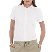 B&C Oxford Ladies Short Sleeve Shirt