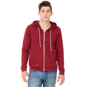 Bella Canvas Unisex Triblend Full Zip Hoodie