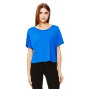Bella Ladies Flowy Boxy Tee