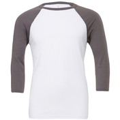 Bella & Canvas Triblend 3/4 Sleeve Baseball T-Shirt
