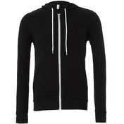 Bella & Canvas Unisex Poly/Cotton Fleece Full Zip Hoodie