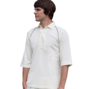 Finden & Hales Piped Cricket Shirt