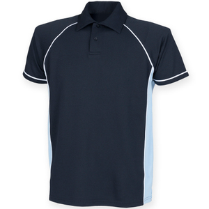 Finden hales youth performance piped polo shirt finden for Youth performance polo shirts