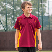 Finden & Hales Youth Performance Piped Polo Shirt