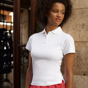 Fruit of the Loom Short Fit Ladies Polo Shirt