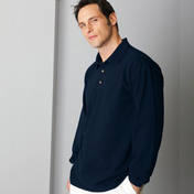 Gildan Long Sleeve Polo Shirt