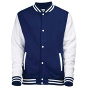 AWDis Just Hoods Kid's Varsity Jacket