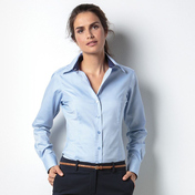 Kustom Kit Women's Contrast Premium Oxford Shirt Long Sleeve