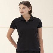 Russell Ladies Pima Cotton Micro Pique Polo Shirt