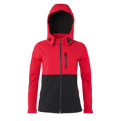SG Ladies' Hooded Contrast Softshell