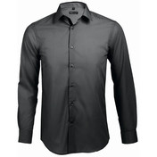 SOL'S Broker Long Sleeve Contrast Fitted Shirt