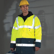Yoko Hi-Vis 2 Band Two Tone Jacket