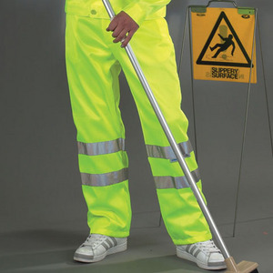 Yoko Hi-Vis Polycotton Working Trousers