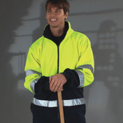 Yoko Hi-Vis Two Tone Fleece Jacket